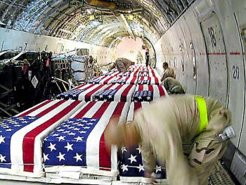 Coffins of American Service, what they don't want you to see.